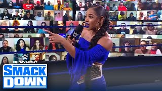 "Bayley calls Bianca Belair ""big 'ol idiot"" ahead of WrestleMania Backlash 