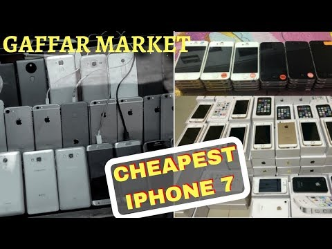 CHOR BAZAAR IN DELHI (CHANDNI CHAWK) | Iphones in cheap prices | Best electronic market ! Iphone 8