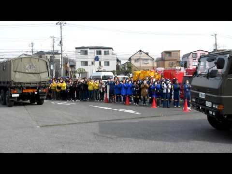 浦安市へ災害派遣の自衛隊が撤収