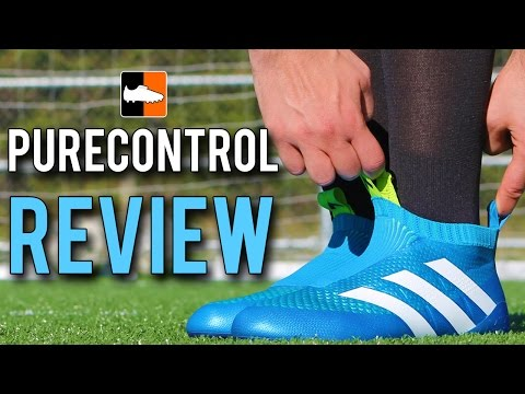 ACE 16 Purecontrol Review | adidas Blue Laceless Football Boots
