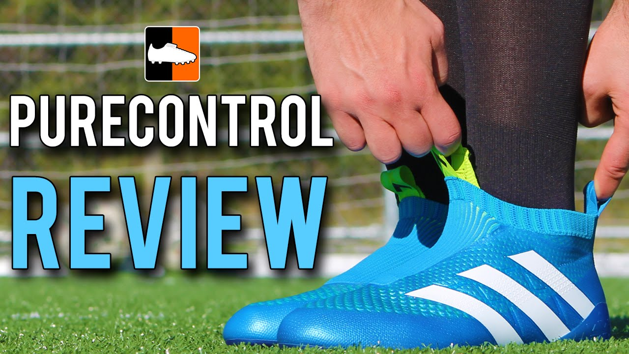 new arrivals 5a6b6 7220f ... top quality ace 16 purecontrol review adidas blue laceless football  boots youtube 28036 5967a