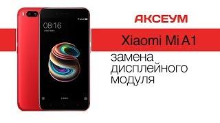 Как разобрать смартфон Xiaomi Mi A1 и заменить дисплей своими руками  Replacement LCD