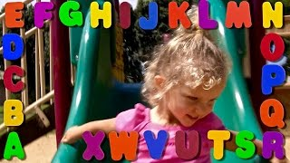 Learn English Letters! X Plus Alphabet Song!