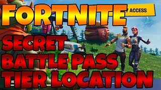 Fortnite - Road Trip #1 - Season 5 Week 1 Free Battle Star location