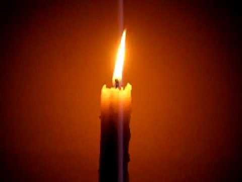 Burning Candle - YouTube