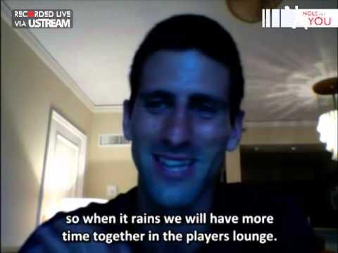 No 14 LIVE video reply by Novak Djokovic #NoleForYou