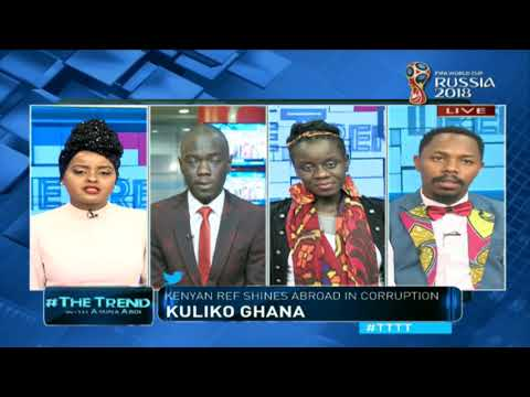 #TTTT: Ako-Thigh - Kenyans draw issues with musicians thighs in concert