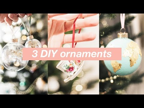 3 DIY Christmas Ornaments Inspired by Anthropologie