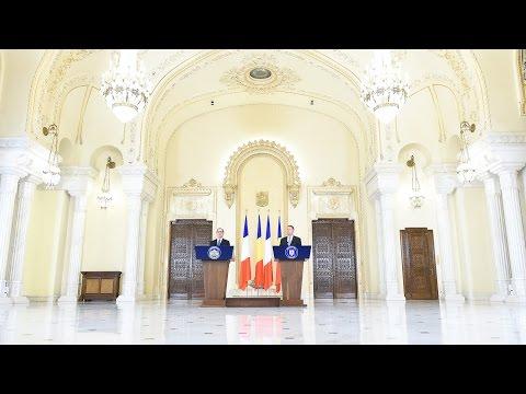 13 septembrie 2016   Declarație de presă comună cu Președintele Franței, François Hollande