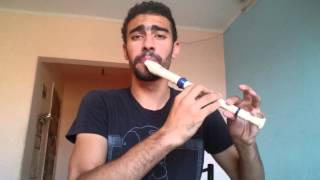 "My War (Official Music Video) ""Freestyle"" - Recorder Beatbox - Medhat Mamdouh"