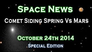 Comet Siding Spring Vs Mars WUITS Space News Special Edition