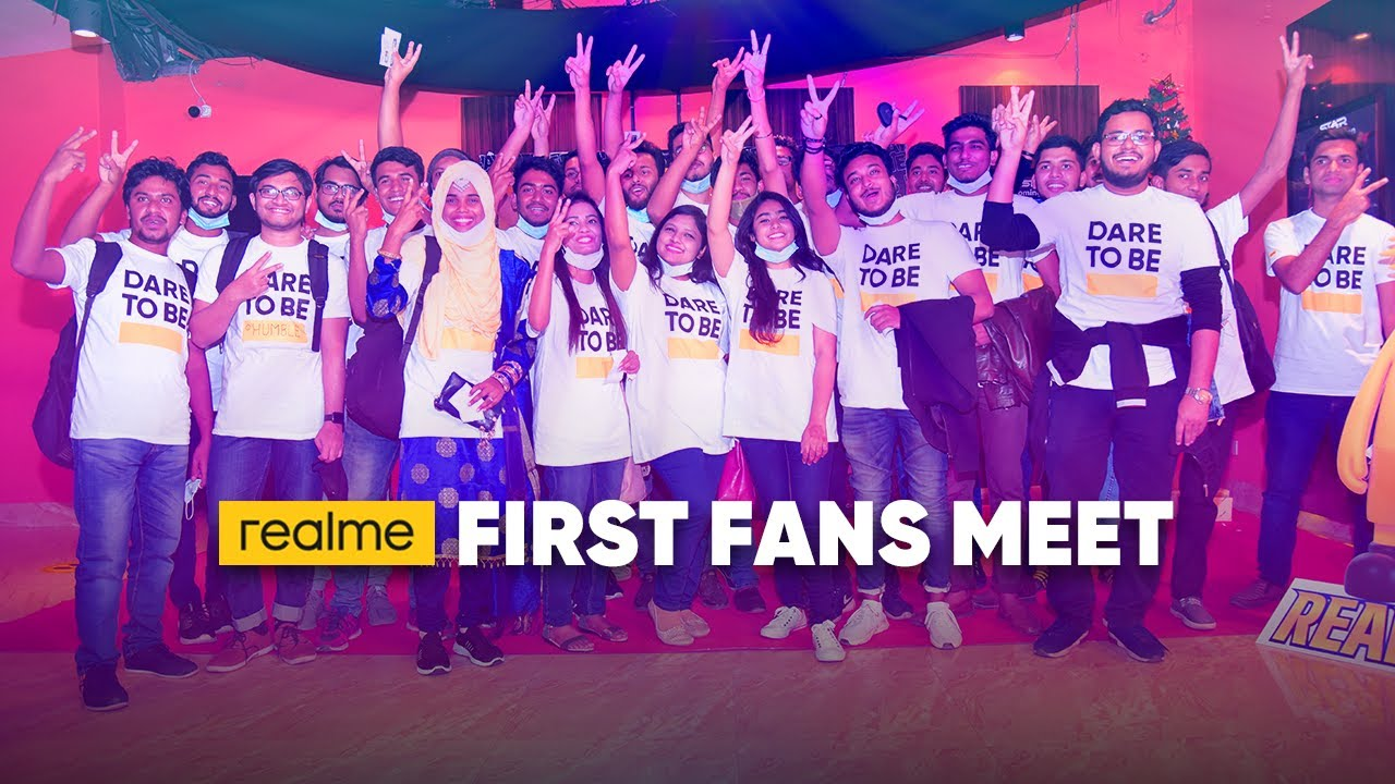 realme First Fan Fest! Dare To Leap.