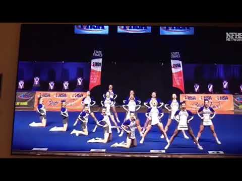 Columbia Cheerleading 2018 Ihsa State Finals Youtube