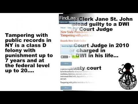 Cattaraugus County New York Court Clerk Corruption