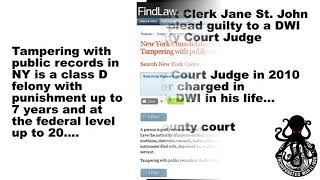 Cattaraugus County New York Court Clerk Corruption