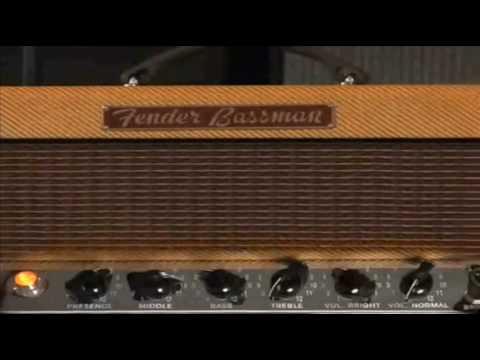 fender 39 59 bassman guitar amplifier demo clip 4 youtube. Black Bedroom Furniture Sets. Home Design Ideas
