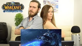 World of Warcraft: Wrath of the Lich King | Реакция на трейлер