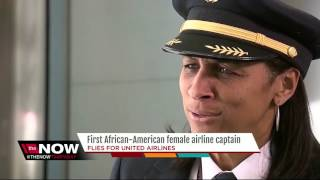 first african american female airline captain