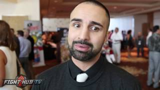 "Paulie Malignaggi ""Joshua may be catching him at the right time..but Wladimir remains dangerous"""