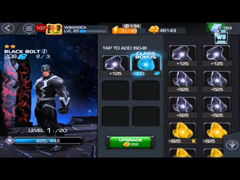 Marvel: Contest of Champions - How to Rank Up/Level Characters