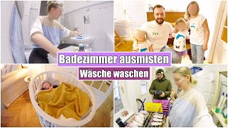 Haushalt einer Großfamilie 🤪 Wäscheberge & Putzen | Isabeau