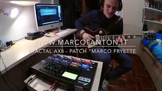 Fractal AX8 - Fryette Amp Patch
