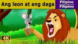Ang Leon at ang Daga - Mga Pabula ni Aesop - Mga Kuwentong Pambata - Filipino Fairy Tales