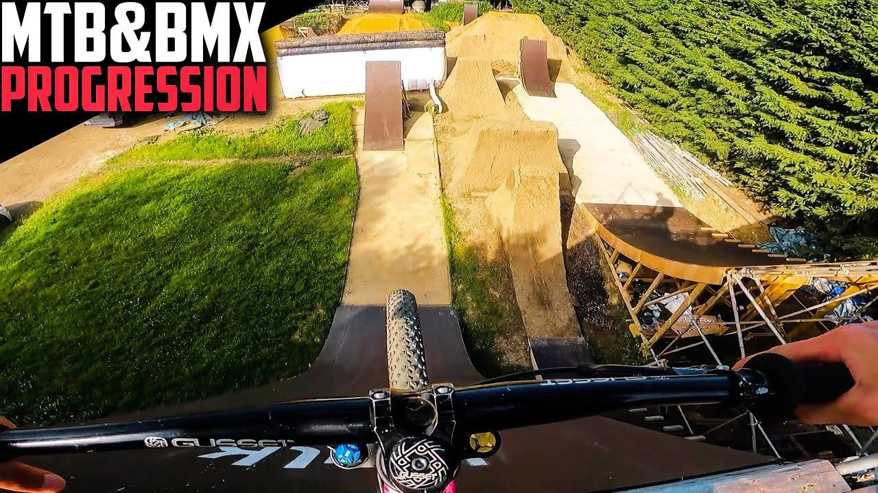 THE BEST SLOPESTYLE COMPOUND! MTB & BMX PROGRESSION