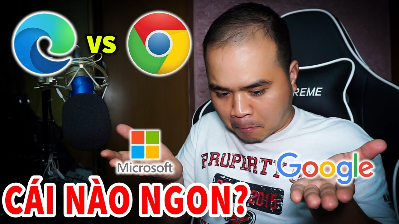 Dịch vụ của Microsoft và Google cái nào ngon hơn? Edge Chromium và Chrome tương lai sẽ ra sao?