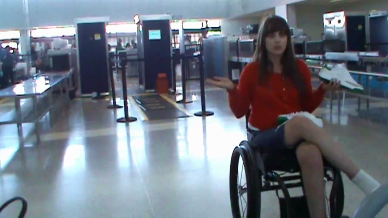 Get Wheelchair Travel Tips on Airports and Plane Flights: check-in ...