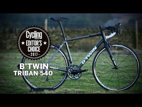 B'Twin Triban 540 | Editor's Choice | Cycling Weekly - YouTube