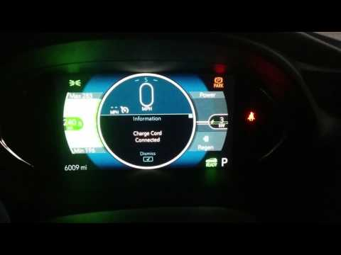 Chevy Bolt EV Max Regenerative Braking Indicator