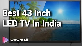 Best 43 Inch LED TV In India: Complete List with Features, Price Range & Details
