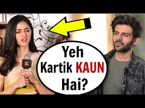 Ananya Pandey INSULTS Kartik Aryaan In FRONT Of Media At SOTY 2 Trailer Launch
