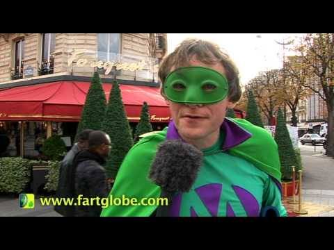 Mr Methane Does Fouquet's Restaurant in Paris - Long Live FartGlobe HILARIOUS