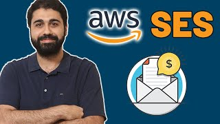 how to Use Amazon SES as your SMTP Service?  Send Bulk Emails For Cheap  AWS SES Tutorial