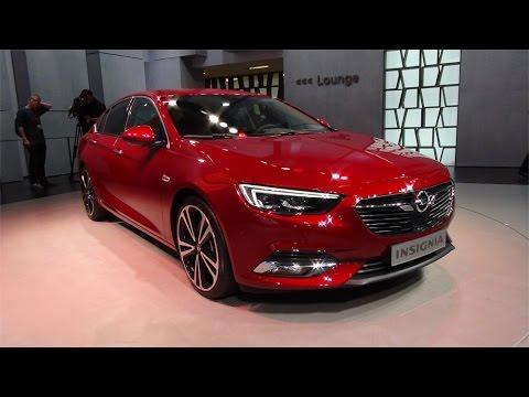 2018 Opel Insignia Red Walkaround Amp Interior Geneva
