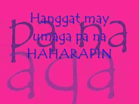 ikaw lang ang mamahalin by Sarah Geronimo Lyrics
