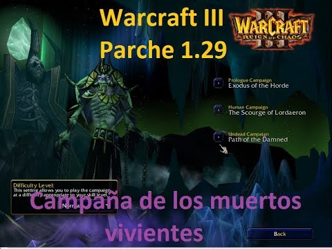 Warcraft Iii Reign Of Chaos Parche 1 29 Campana Muertos