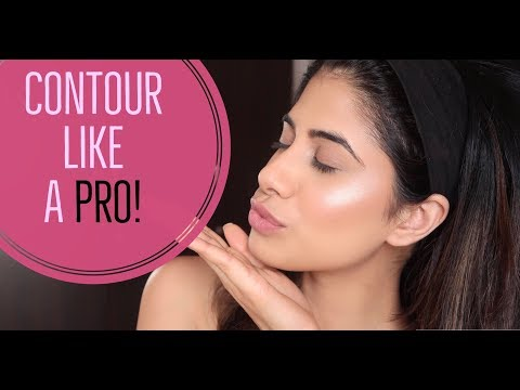 Class 2 - How to Contour, Blush & Highlight | For Beginners | Malvika Sitlani
