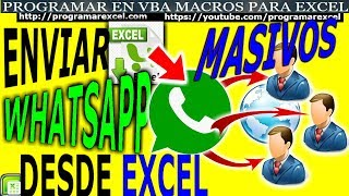 428 How to Send Whatsapp in Massive Form with Excel
