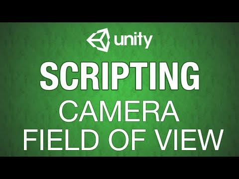 Unity 3d Camera Field of View Manipualtion