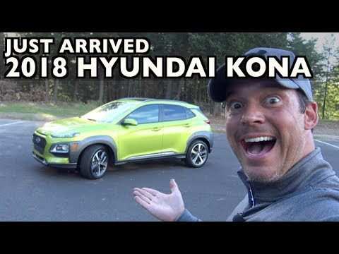 Just Arrived: 2018 Hyundai Kona AWD on Everyman Driver
