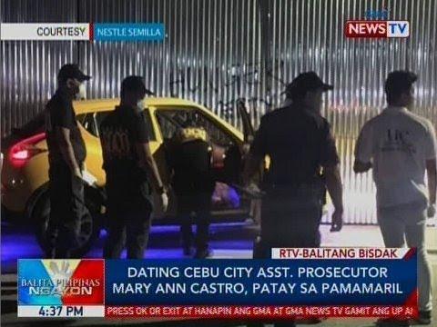 BP: Ex-Cebu City Asst. Prosecutor Mary Ann Castro, patay sa pamamaril