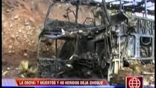 seis personas mueren en accidente de bus de santa ana