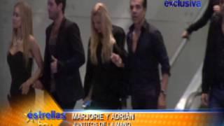 Nuestro paparazzi capto en Exclusiva a Marjorie de Sousa con Adrian Uribe - Estrellas hoy
