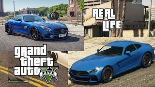 GTA V Cars In Real Life | Mercedes Cars
