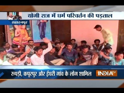 Uttar Pradesh: 180 Dalit families convert to Buddhism in riot-hit Saharanpur
