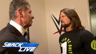 AJ Styles attacks Mr. McMahon: SmackDown LIVE, Dec. 25, 2018