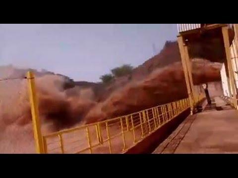 Rompimento da barragem da samarco